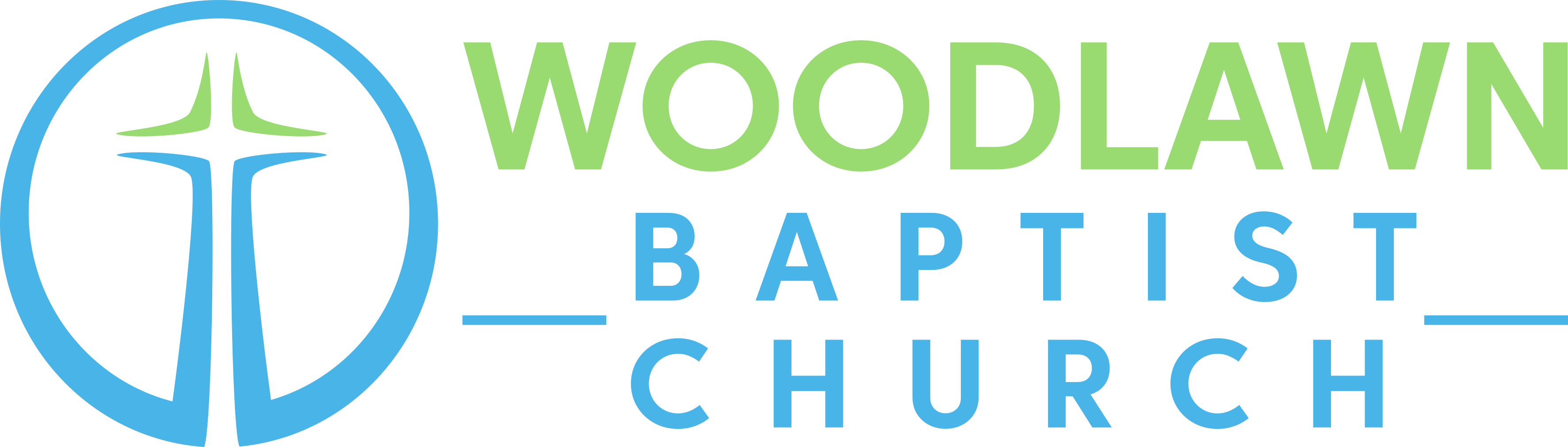Woodlawn Baptist Church Logo