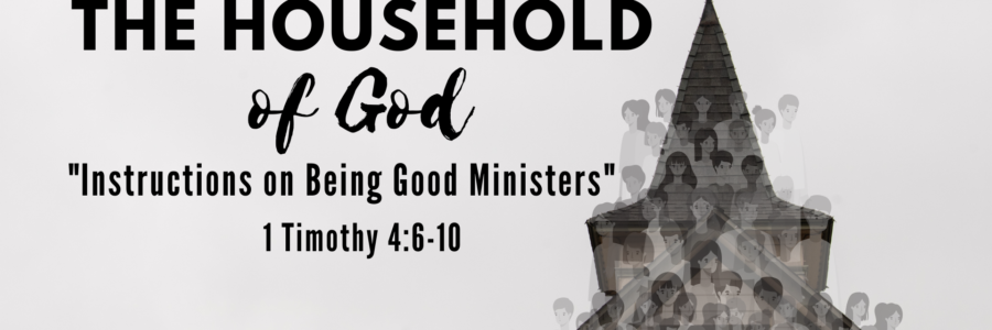Instructions on Being Good Ministers